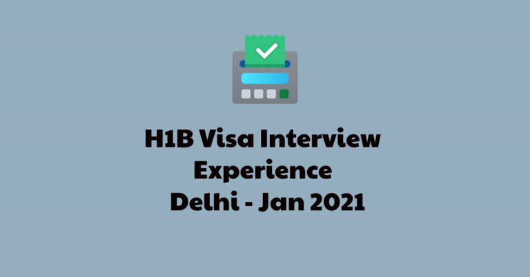 3 More H1B Visa Stamping Experience – Employer Part of Plantiffs