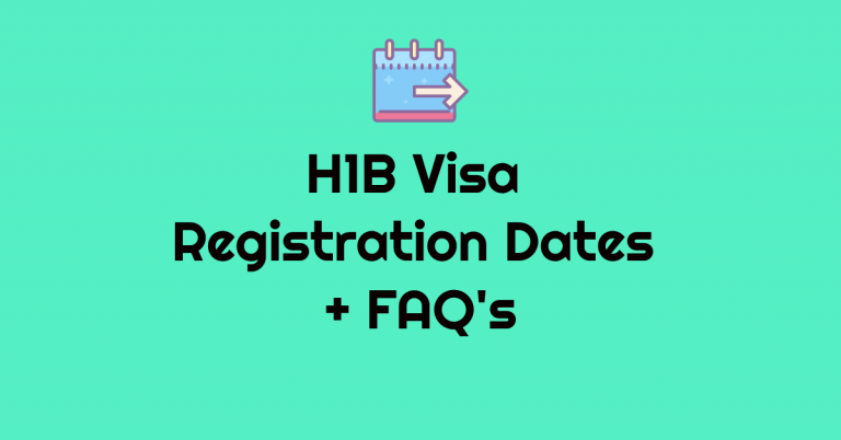 10 FAQ's About H1B Visa FY 2022 Registration Dates